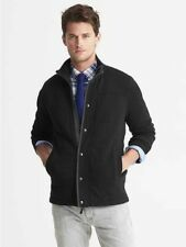 NWT BANANA REPUBLIC MENS XLT XL TALL FRENCH RIB QUILTED JACKET SWEATER