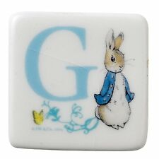BEATRIX POTTER MAGNET - LETTER G - PETER RABBIT -  NEW UNBOXED - A27264