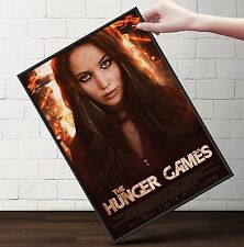 THE HUNGER GAMES - KATNISS EVERDEEN Poster   Cubical ART   Gifts   FREE Shipping