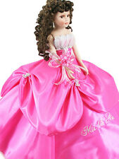 NEW Hand Crafted Quinceanera Doll For Girl Birthday Party Q2047