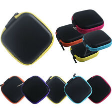Zipper Storage Bag Carrying Case for Hard Keep Earphones SD Card Area Wholesale
