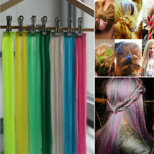 Wholesale Fashion Piece Clip in on Hair Extensions 55cm Colorful Highlight Hair