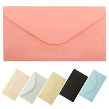 50x New Plain Multicolor DIY Envelopes Scrapbook Craft Envelopes 162 x 299 mm