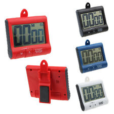 Magnet Digital LCD Kitchen Count Down Counter Timer Beeping Alarm Clock Pop