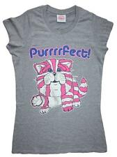 BAGPUSS  Purrrrfect! - Distressed Effect Vintage TV Character - Ladies t shirts