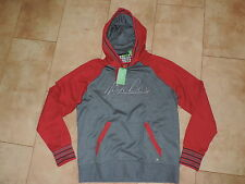 Hugo Boss Grey Red Green Label Hoody Sweatshirt Sweater S SOODY 1
