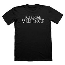 I CHOOSE VIOLENCE CERSEI THE MOUNTAIN T SHIRT GAME OF THRONES TSHIRT LANISTER