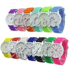 Summer Icy Geneva Silicone Jelly Gel Quartz Analog Sports Unique Wrist Watch