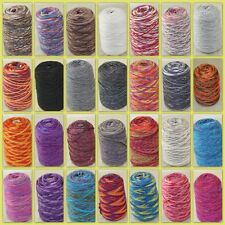 Sale NEW 1 Cone x 500gr Yarn Chunky Hand Knitting Colorful Soft Wool Cashmere