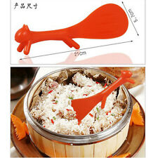 Lovely Creative Kitchen Squirrel No Sticky Table Rice Paddle Scoop Spoon Ladle