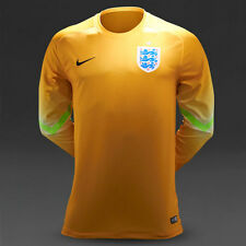 NIKE OFFICIAL AUTHENTIC ENGLAND GOALKEEPER LONG SLEEVES FOOTBALL SHIRT SIZE XL