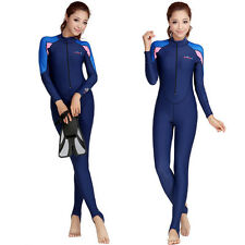 New Hot Women Piece Scuba & Snorkeling Wetsuit Rash Guard Surfing Surf Clothing