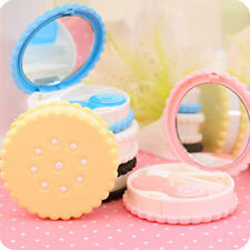 BEST Travel Portable Cute Cartoon Cookies Contact Lens Case Box Container Holder