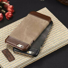 Luxury Leather Jeans Cowboys Back Case Cover For Apple iPhone 5 5S SE 6 6S Plus