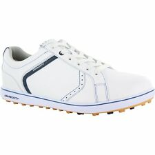 Mens Ashworth Cardiff Adc 2 Golf Shoes G54321 White Navy Classic Blue