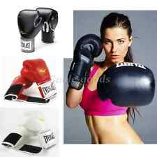 Everlast Style Boxing Training Gloves Sparring Fighting Gloves 8 10 12 14 16 oz