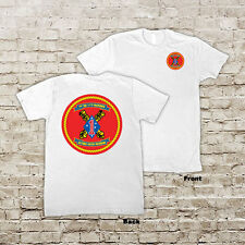 1st Battalion 11th Marines Regiment USMC Marine Corp WWII Black or White T-shirt