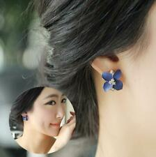 Charm Fashion Women Crystal Rhinestone Gold Plated Ear Stud Earrings Jewelry HOT