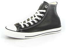New Men's Converse Chuck Taylor Leather Hi Black/white Footwear Hi-top Sneake...