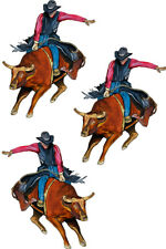 Bull Rider Rodeo Country Cowboy Vinyl Decal Sticker - Auto Car Truck RV Cup Boat