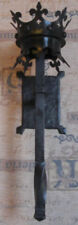 Forged Large Medieval Castle Candle Wall Torch, Sconce. Medieval Wall Torch.