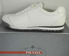 NIB Prada Mens White Trainer/sneaker/shoes  (Size UK9.5-11 EU 43.5-45, US 10-12)