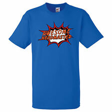 AWESOME HEADMASTER PERSONALISED COMIC BOOK PRINT T SHIRT