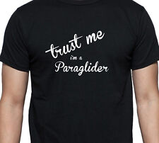 TRUST ME I'M A PARAGLIDER PERSONALISED GIFT T SHIRT