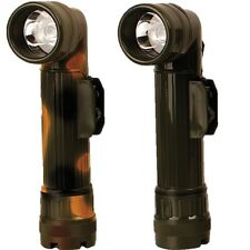 MILITARY LARGE ANGLE TORCH FILTERS FLASHLIGHT BRITISH ARMY CAMPING SCOUTS CADET