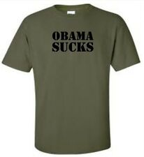 Obama Sucks Mens T-Shirt Anti Obama Tee More Colors