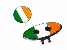 Golf Hat Cap or Visor Clip with Ireland Magnetic Ball Marker Prize or Gift - New