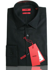 BOSS HUGO Business shirt C-Jenno ( Slim Fit ) black 100% Cotton