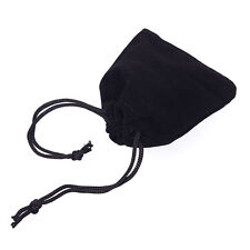 25 50 100pcs Wholesale Black Velvet Jewelry Gift Bags Pouches Jewelry Organizer