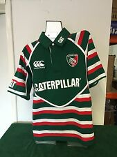 Canterbury Leicester Tigers 2012/13 Supporters Rugby Shirt S/Sleeve