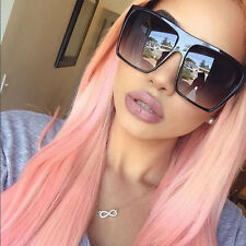Oversized Sunglasses Huge Flat Top Large Aviator Style Vintage Fashion Square
