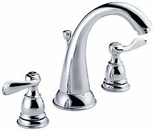 Two Handle Widespread Lavatory Bathroom Faucet Luxury Chrome Bronze Stainless