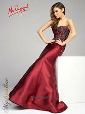 Mac Duggal 48454D Long Evening Dress ~LOWEST PRICE GUARANTEE~ NEW Authentic Gown