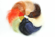 Vintage Feather Millinery hat hackle pad trim 3212 made in France w label