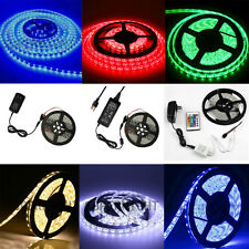 5M White/Red/Green/Blue/RGB 300Leds 3528/5050 SMD LED Strip Light / DC 12V Power