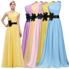 Bridesmaid Prom Homecoming Long Evening Formal Party Cocktail Gown Wedding Dress