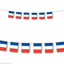 Superstars French Flag Bunting France Banner 10 Metres 20 Large Flags
