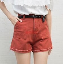 New Fashion Denim Slim Fit Casual Summer Womens Wide leg Shorts Hot Pants N6-7