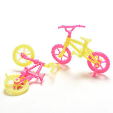 2/5/10Pcs Bicycles Bikes Mini Toy for Barbie Accessories Girls Birthday Gift HC