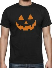 Orange Jack O' Lantern Pumpkin Face Halloween Costume T-Shirt Funny