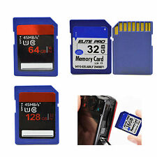 32GB 64GB 128GB SD Card SDHC Flash Memory Card For Digital Camera Camcorder