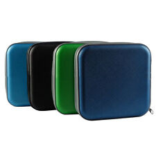 New 40 Disc CD DVD Storage Zipper Bag Case Hard Box Wallet Album Holder USHU