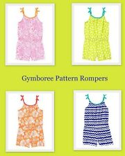 NWT Gymboree Pattern Rompers Multiple Colors Sizes 6 7 8 10 & 12