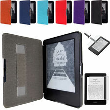 100% HAND STRAP CASE COVER FOR KINDLE WITH TOUCH (7th Gen 2014)+ Glass Protector