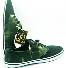 Kustom - Billabong Mens Skate Shoes Runners Sneakers  Army camouflage US 9 10 11