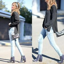NEW ZARA GREY BLUE VELVET BOOTIE HIGH HEEL ZIP ANKLE BOOTS! BLOGGERS! SOLD OUT!
